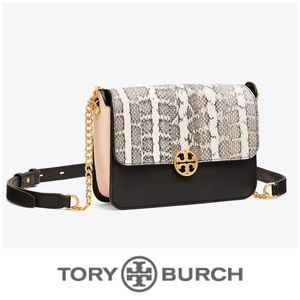 Tory Burch Snake Chelsea Bag EUC